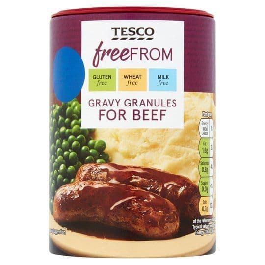 Tesco Free From Beef Gravy Granules 170g