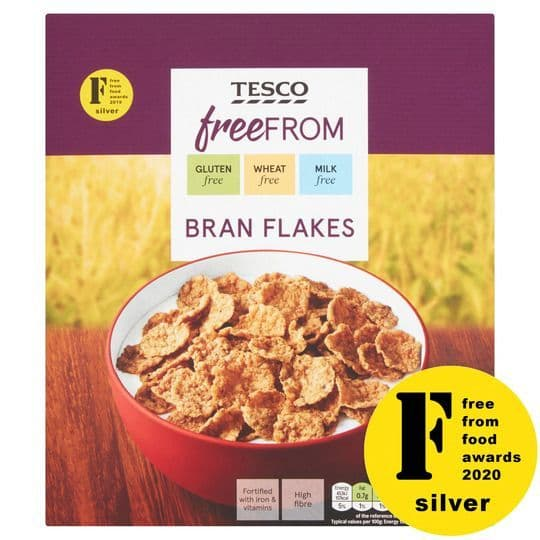 Tesco Free From Branflakes 300g