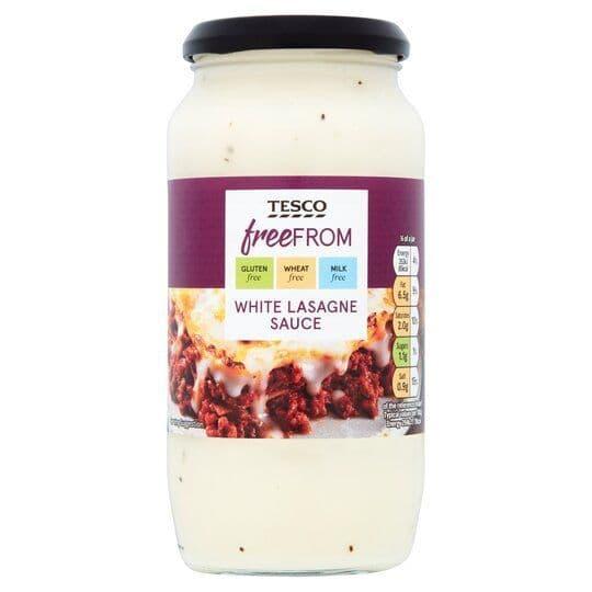 Tesco Free From White Lasagne Sauce 480g