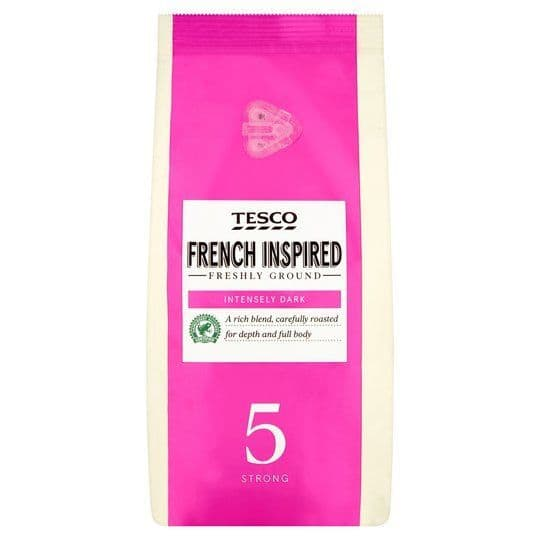 Tesco French Inspired Ground Coffee 227g