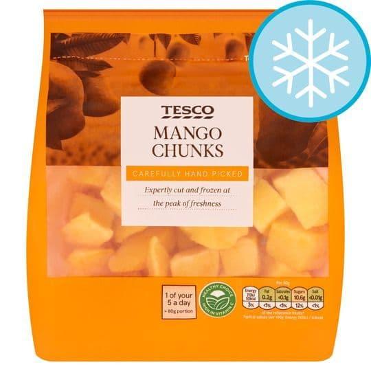Tesco Frozen Mango Chunks 500g