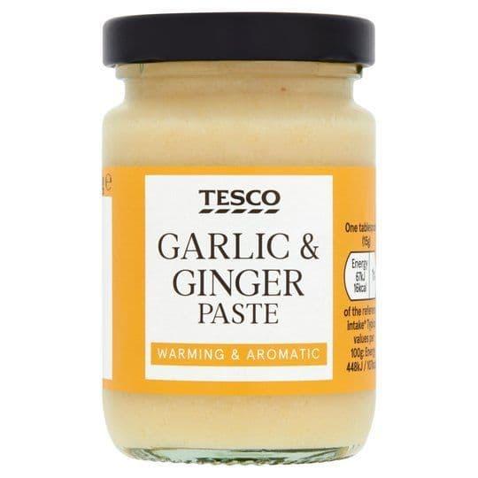 Tesco Garlic & Ginger Paste 95g