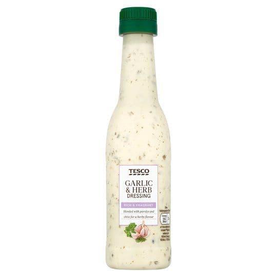 Tesco Garlic & Herb Dressing 250ml