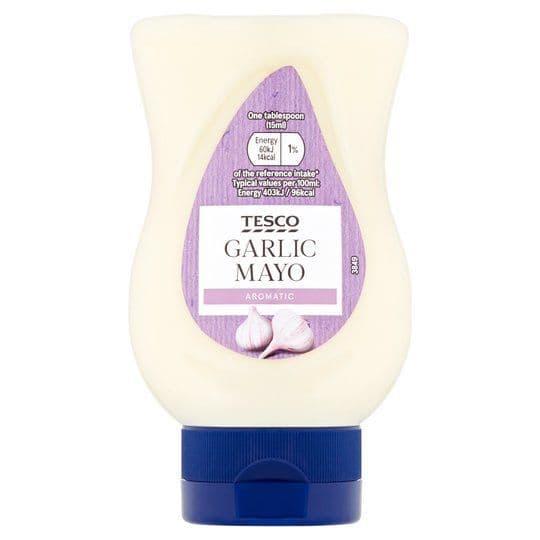 Tesco Garlic Mayonnaise 235ml