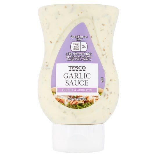 Tesco Garlic Sauce 235ml
