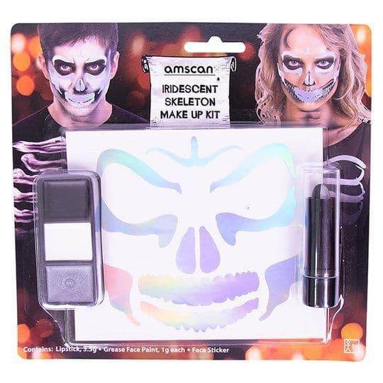 Tesco Glow in the dark skeleton makeup