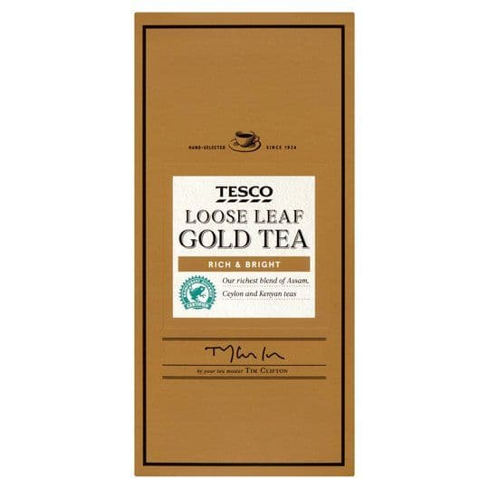 Tesco Gold Loose Leaf Tea 250g