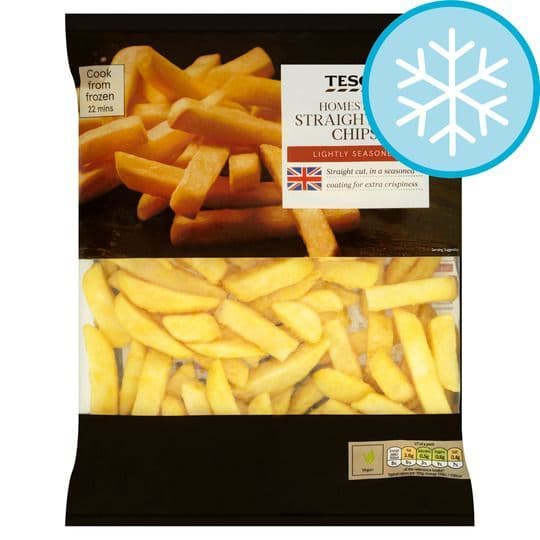 Tesco Homestyle Straight Chips 950g