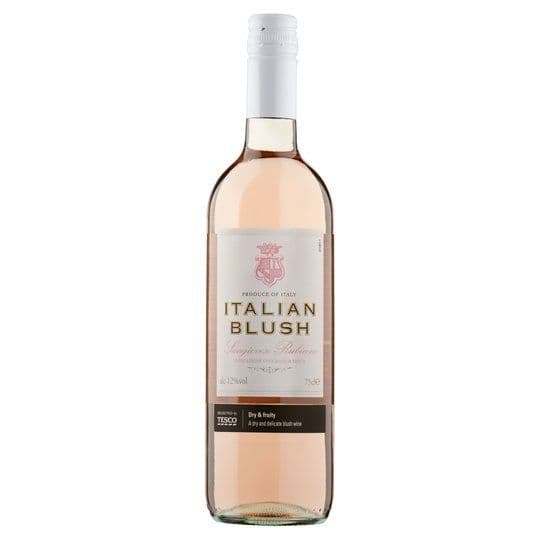 Tesco Italian Blush 75cl