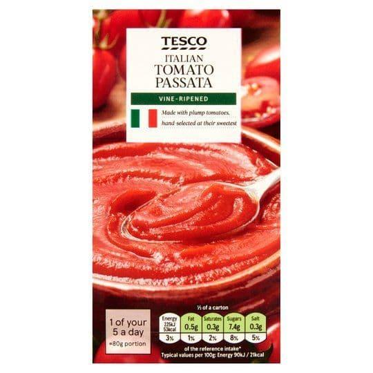 Tesco Italian Tomato Passata 500g