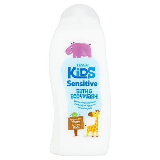 Tesco Kids Sensitive Bath & Bodywash 500ml