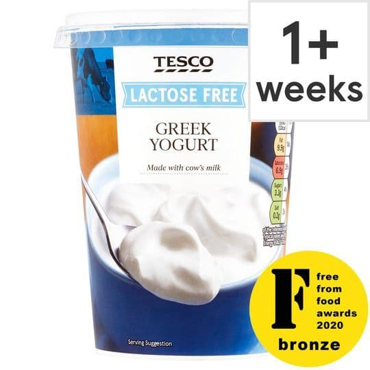 Tesco Lactose Free Greek Yoghurt 400g