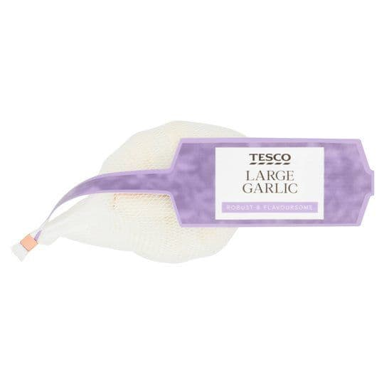 Tesco Large Garlic