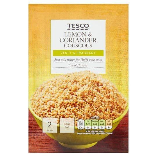 Tesco Lemon & Coriander Couscous 110g