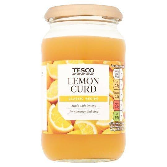 Tesco Lemon Curd 411g
