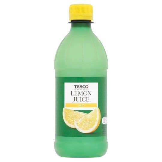 Tesco Lemon Juice 500ml