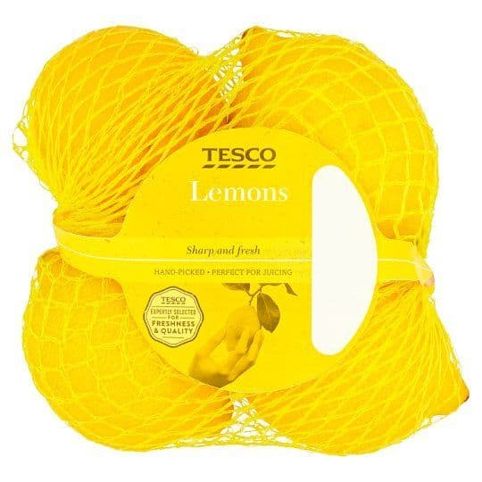 Tesco Lemons 4 Pack