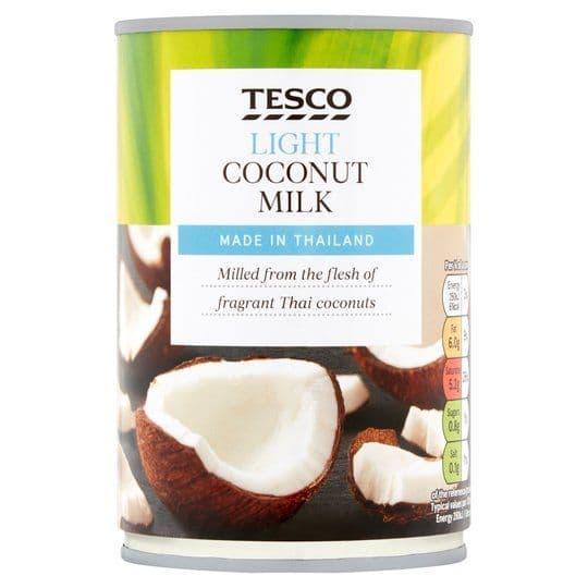 Tesco Light Coconut Milk