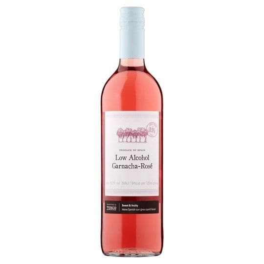 Tesco Low Alcohol Garnacha Rose 75cl