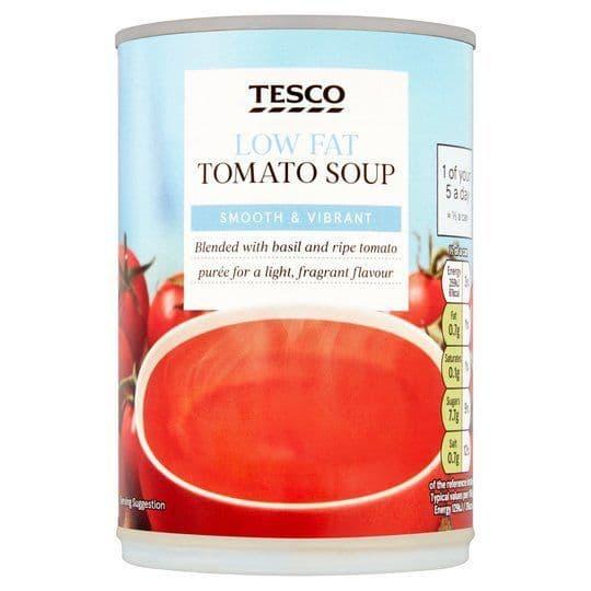 Tesco Low Fat Tomato Soup 400g