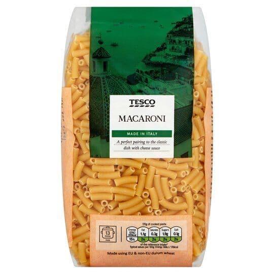 Tesco Macaroni Pasta 1kg