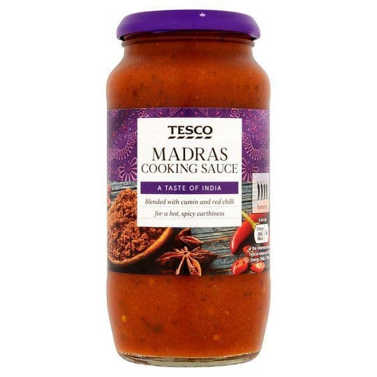 Tesco Madras Cooking Sauce 500g
