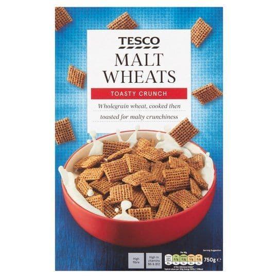 Tesco Malt Wheats 750g