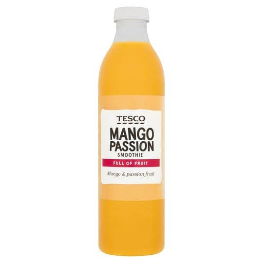 Tesco Mango & Passion Smoothie