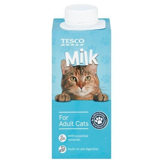 Tesco Milk For Cats 200ml