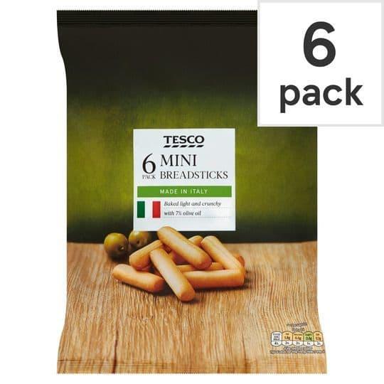 Tesco Mini Breadsticks 6pk