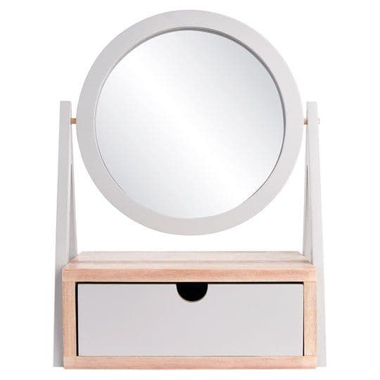 Tesco Mirror With Drawer