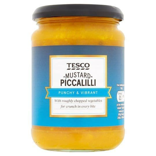 Tesco Mustard Piccalilli 350g