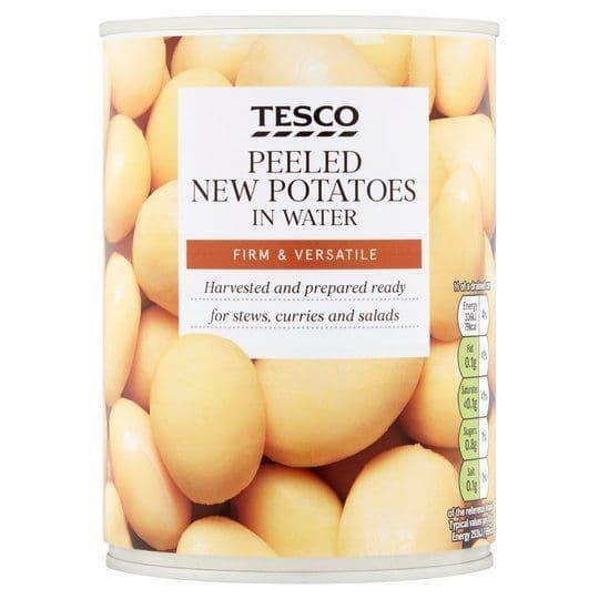 Tesco New Potatoes in Water