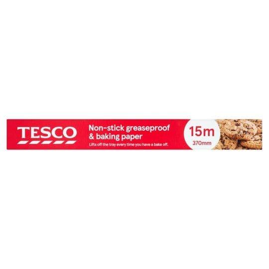 Tesco Non-Stick Baking Paper 370mm x 15m