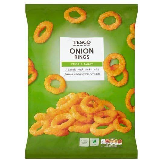 Tesco Onion Rings 150g