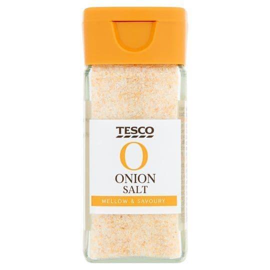 Tesco Onion Salt 80g