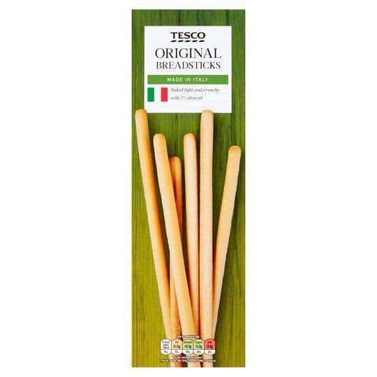 Tesco Original Italian Breadsticks 125g