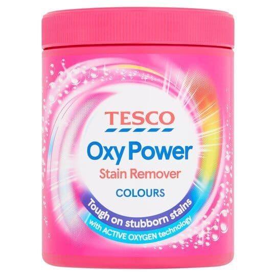 Tesco Oxy Powder Colours 1kg