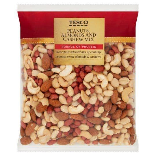 Tesco Peanuts, Almonds & Cashew Mix 600g