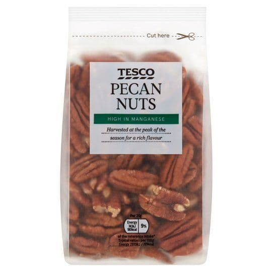 Tesco Pecan Nuts 250g