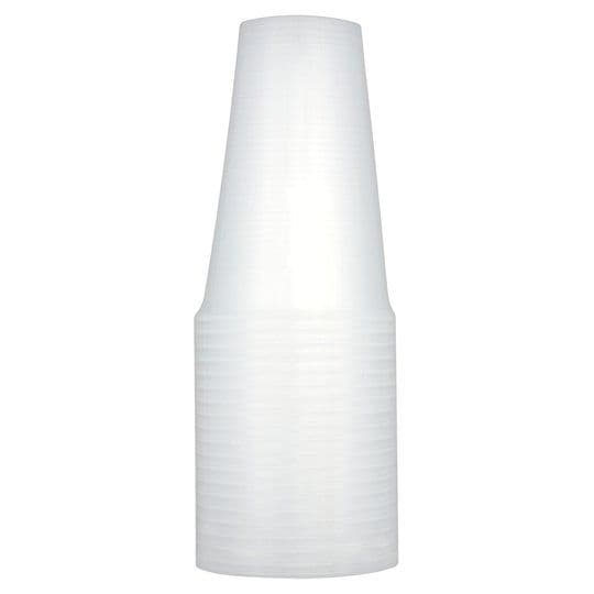 Tesco Plastic Recyclable Tumblers 37cl 20pk