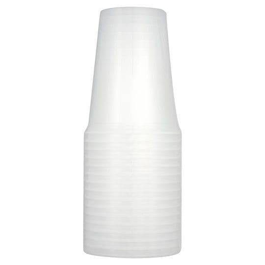 Tesco Plastic Recyclable Tumblers 50cl 16pk