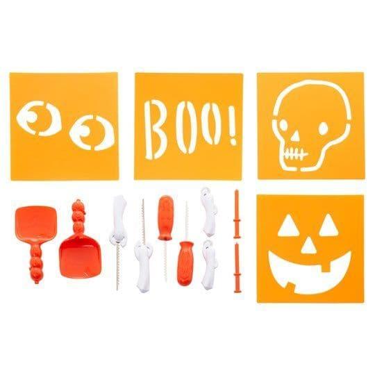 Tesco Pumpkin Carving & Stencil Kit