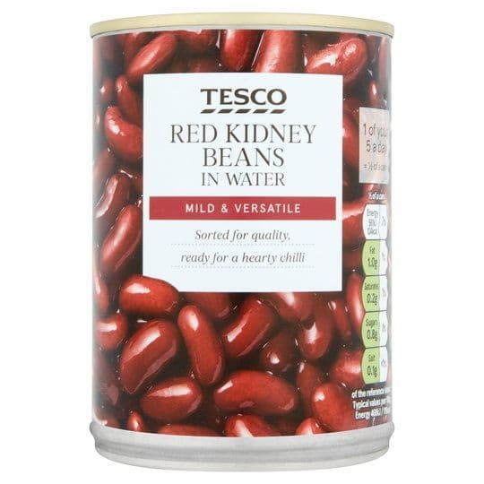 Tesco Red Kidney Beans in Water 400g