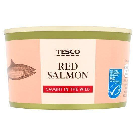 Tesco Red Salmon 212g