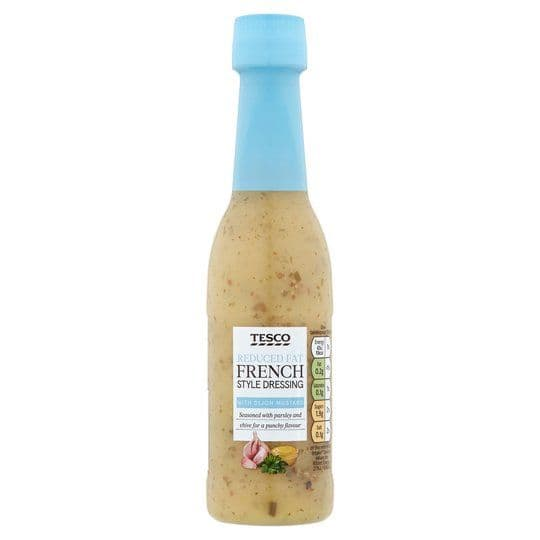 Tesco Reduced Fat French Dressing 250ml