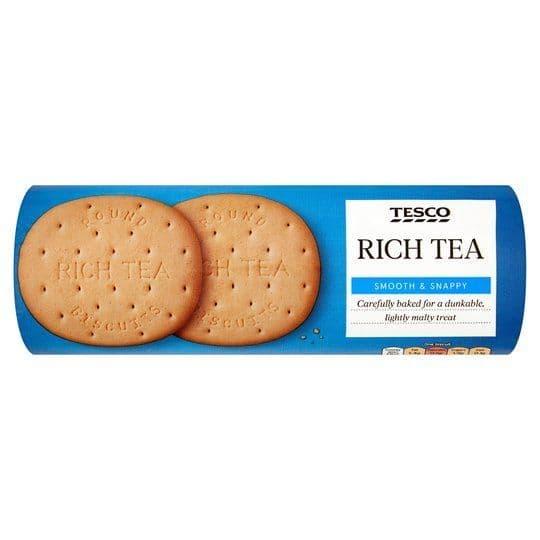 Tesco Rich Tea Biscuits 300g