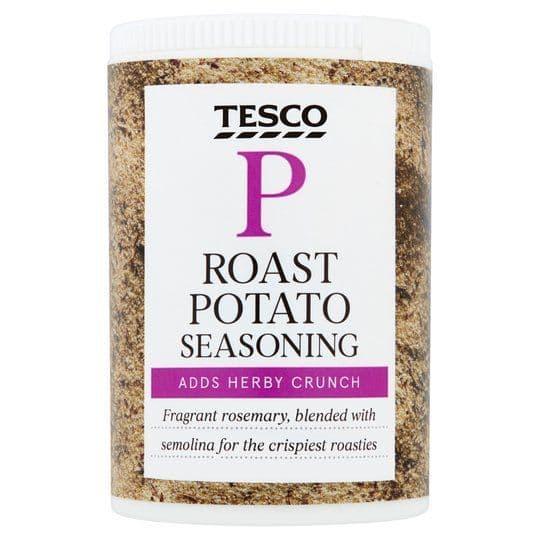 Tesco Roast Potato Seasoning 84g
