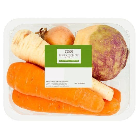 Tesco Root Vegetable Medley 1kg