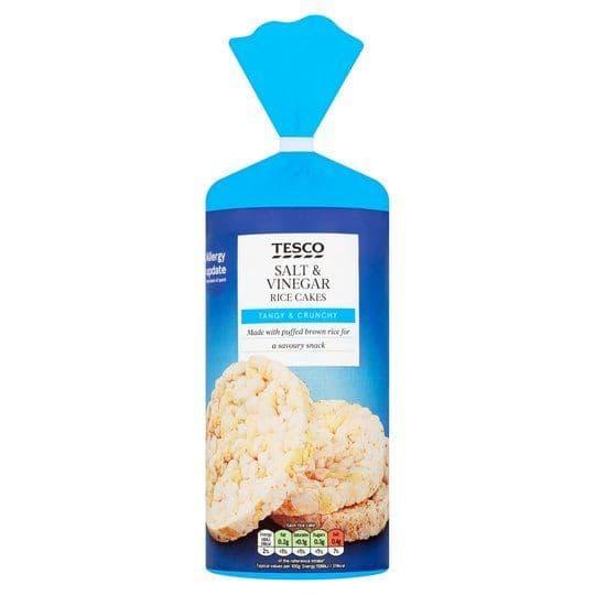 Tesco Salt & Vinegar Rice Cakes